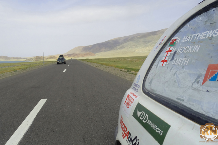 DD Hammocks join Richard Matthews for the Mongol Rally 2015