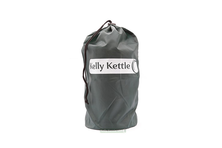 Base Camp Kelly Kettle in carry bag