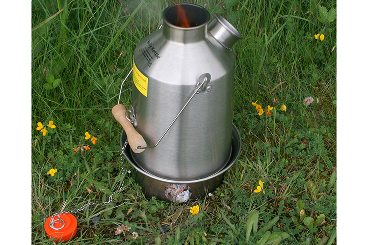 Scout Kelly Kettle - 1.2L outdoor camping kettle