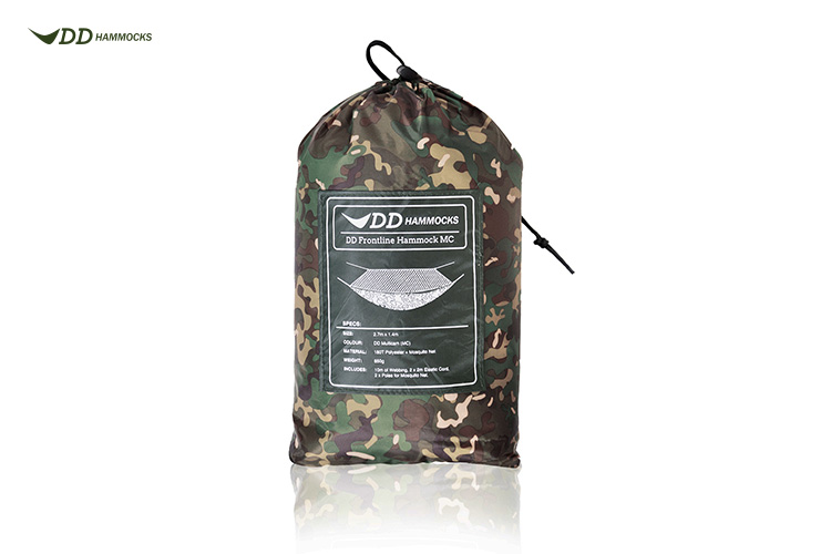 DD Frontline Hammock MC multicam in stuff sack