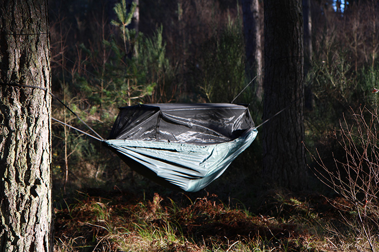 DD Travel Hammock / bivi in the woods