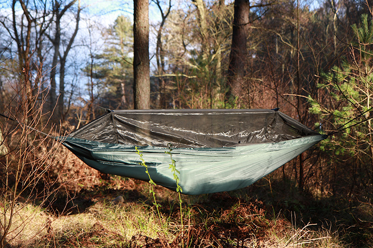 DD Travel Hammock in the forest