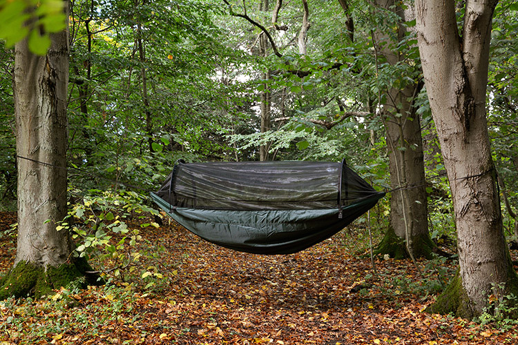 DD XL Frontline Hammock in the woods