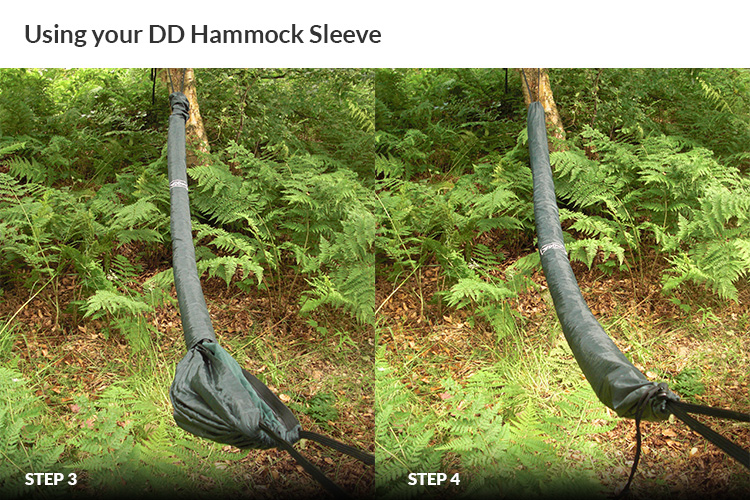 DD Hammock Sleeve - how to use