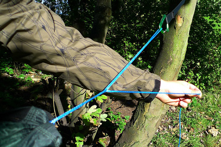 DD whoopie suspension system used on DD hammock