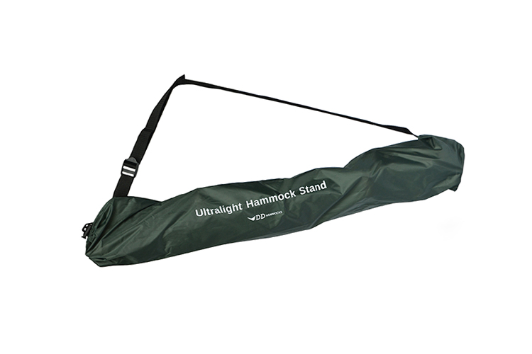 Ultralight Hammock Stand packed in a stuff sack