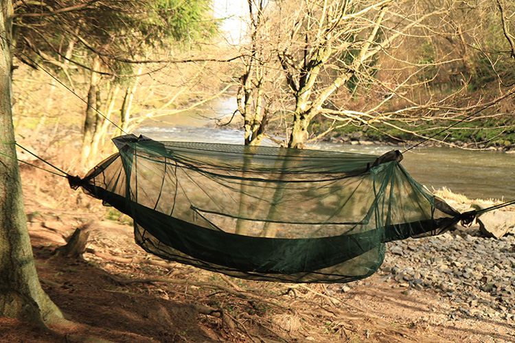 DD Hammock Mosquito Net - ultra fine netting for Scottish midges