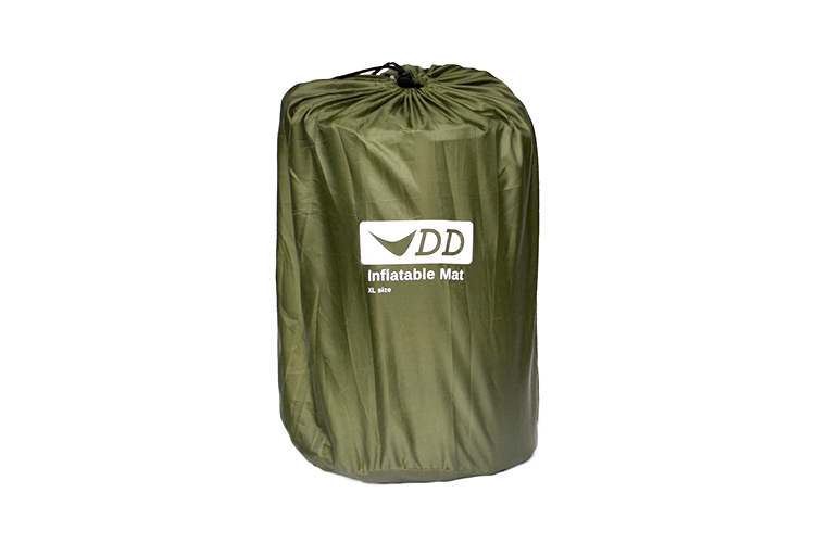 DD Inflatable Mat - XL packed in the stuff sack