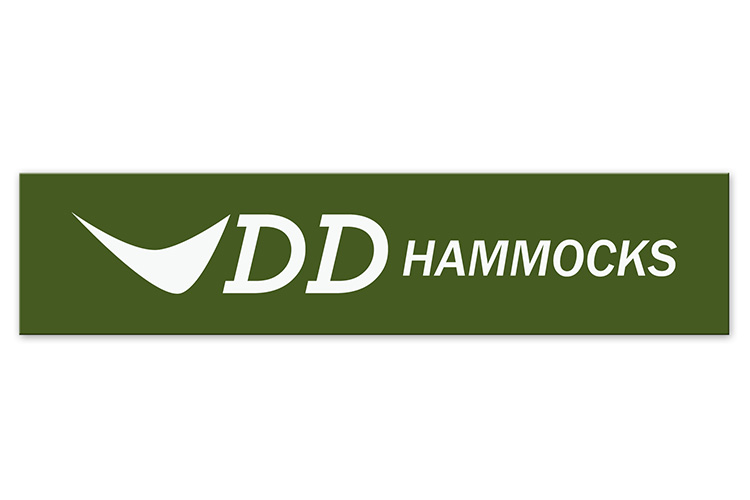 DD Hammocks Sticker with DD logo