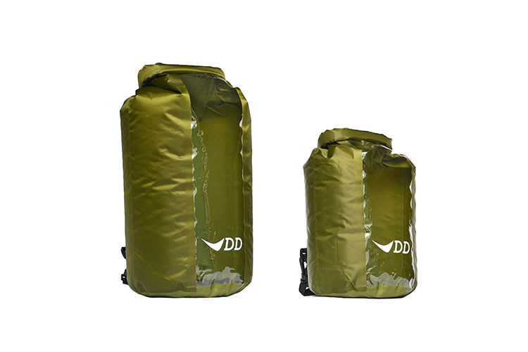 DD Dry Bag 10L and 20L side by side