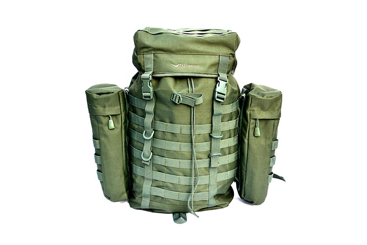 DD Bergen Rucksack shown without front pocket