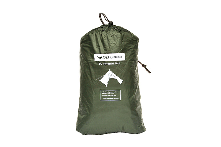 DD Superlight Pyramid Tent ion a bag