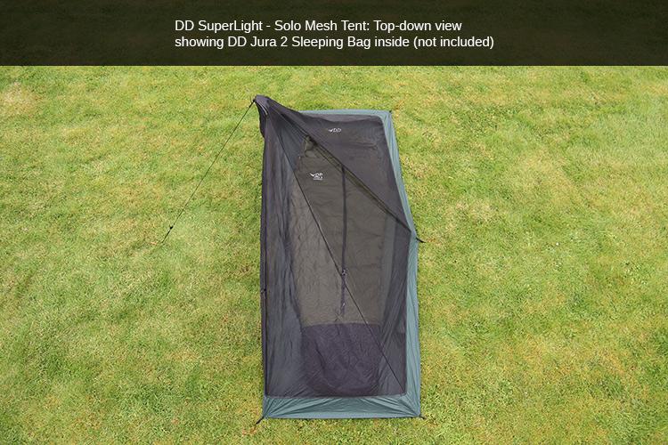 DD SuperLight Solo Mesh Tent | DD Hammocks