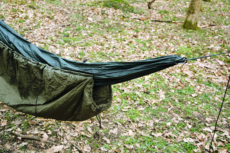 DD Underblanket - how to attach to your hammock