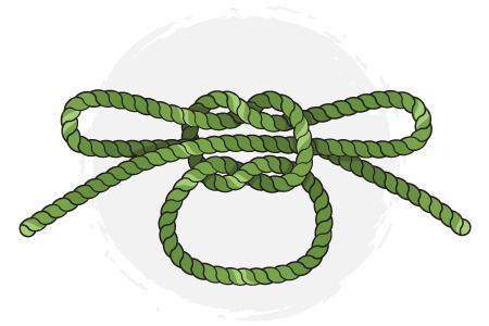 the shoelace knot knots  rh   ddhammocks